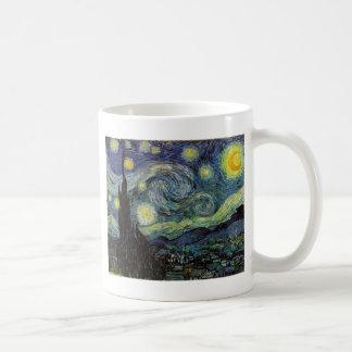 starry night,1889,Vincent van Gogh Coffee Mug