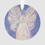 Starry Night Angel Art Gift Holiday Ornament