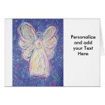 Starry Night Angel Card