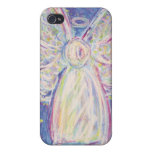 Starry Night Angel Customised Text iPhone Case Cover For iPhone 4