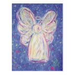 Starry Night Angel Post Card