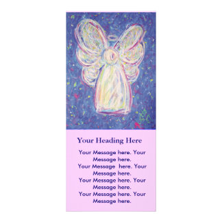Starry Night Angel - Rack Card