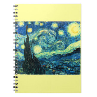 Starry Night art Notebook