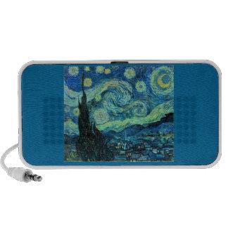 Starry Night art Laptop Speaker