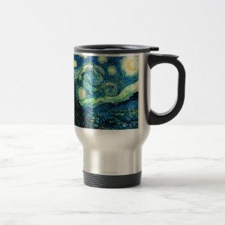 Starry Night art Stainless Steel Travel Mug
