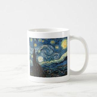 Starry Night Basic White Mug