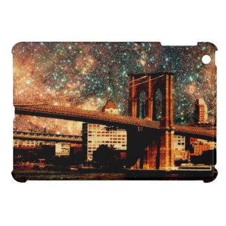 Starry Night Brooklyn Bridge iPad Mini Covers