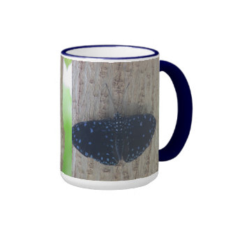 Starry Night Butterfly Mug