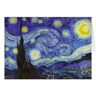 Starry Night by Van Gogh Card