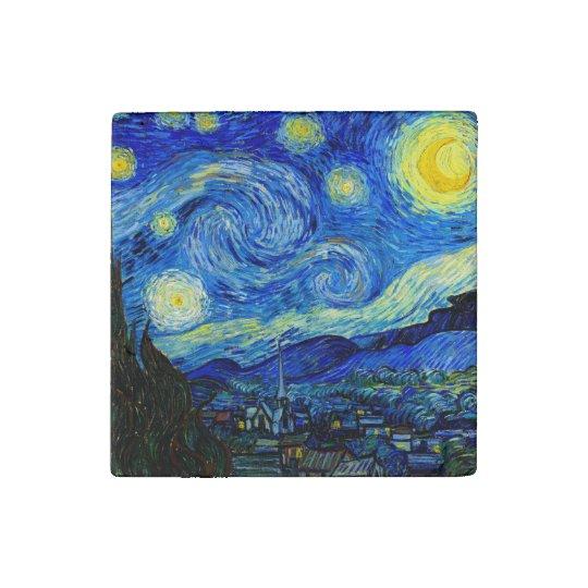 Starry Night by Van Gogh Fine Art Stone