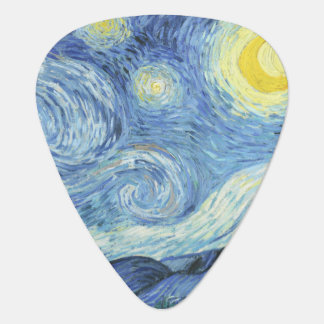 Starry Night by Van Gogh Plectrum