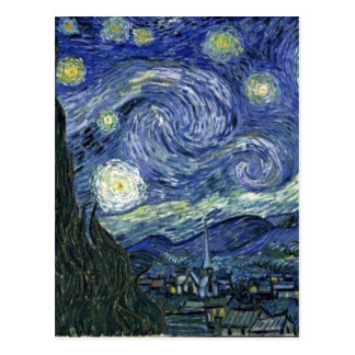 Starry Night by Van Gogh Postcard