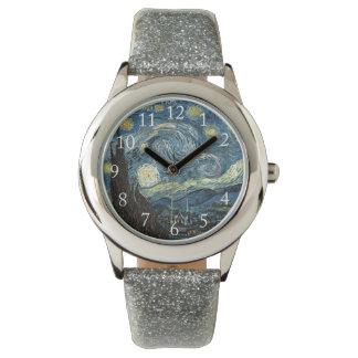 Starry Night by Van Gogh. Wrist Watches