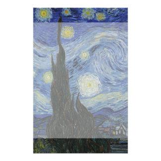 Starry Night by Vincent Van Gogh 14 Cm X 21.5 Cm Flyer