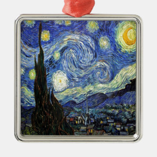 Starry Night By Vincent Van Gogh 1889 Christmas Ornament