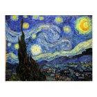 Starry Night By Vincent Van Gogh 1889 Postcard