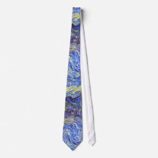 Starry Night By Vincent Van Gogh 1889 Tie