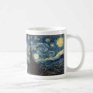 Starry Night by Vincent Van Gogh Basic White Mug