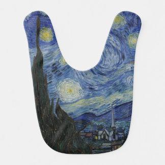 Starry Night by Vincent Van Gogh Bib
