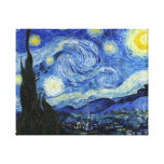 Starry Night by Vincent van Gogh Canvas Prints