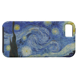 Starry Night by Vincent van Gogh iPhone 5/5S Covers