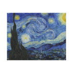 Starry Night by Vincent van Gogh Gallery Wrapped Canvas