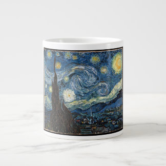 Starry Night by Vincent Van Gogh Giant Coffee Mug