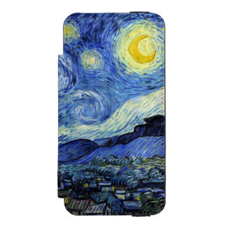Starry Night by Vincent van Gogh Incipio Watson™ iPhone 5 Wallet Case