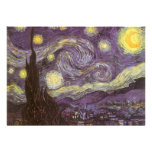 Starry Night by Vincent van Gogh Personalized Announcements