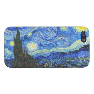 Starry Night by Vincent van Gogh iPhone 5 Case