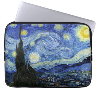 Starry Night by Vincent van Gogh Laptop Sleeves