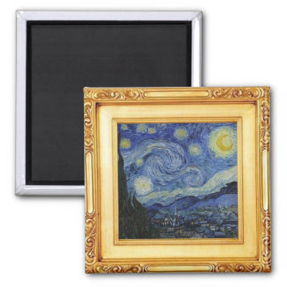 Starry Night by Vincent Van Gogh - Magnet