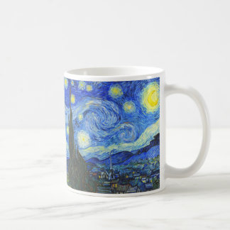 Starry Night by Vincent van Gogh Classic White Coffee Mug