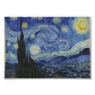 Starry Night by Vincent van Gogh Photo Print