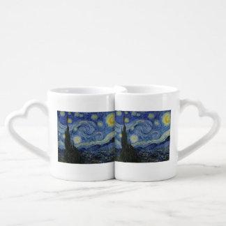 Starry Night by Vincent Van Gogh Lovers Mug