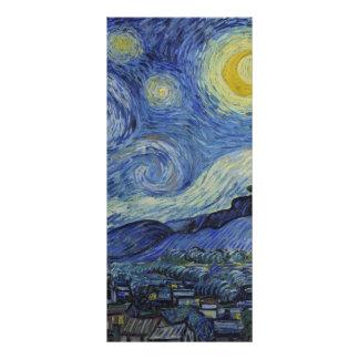 Starry Night by Vincent van Gogh Custom Rack Card