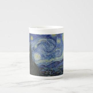 Starry Night by Vincent Van Gogh Bone China Mug