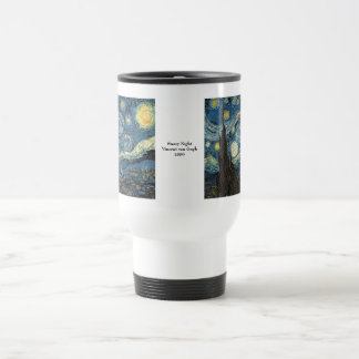 Starry Night by Vincent van Gogh Stainless Steel Travel Mug