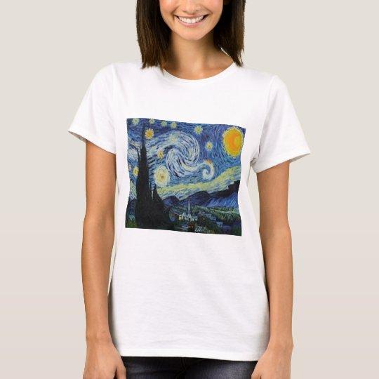 """Starry Night"" by Vincent Van Gogh, T-shirt"