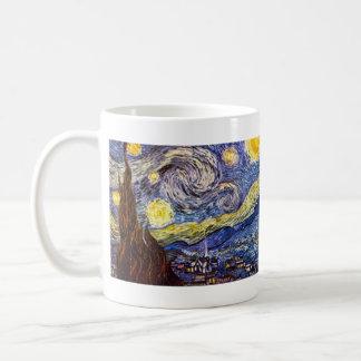 Starry Night by Vincent Willem van Gogh Coffee Mug