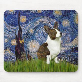 Starry Night - Cardigan Welsh Corgi Mouse Mat