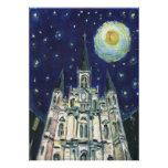 Starry Night Cathedral Posters