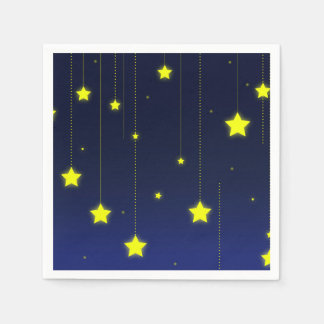 Starry Night Cocktail Paper Napkins