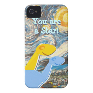 Starry Night Dinosaurs iPhone 4/ 4S Case