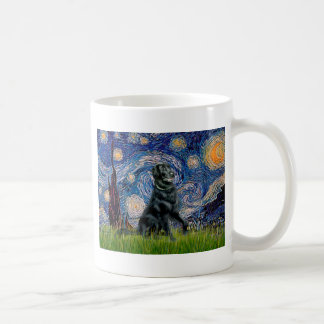 Starry Night - Flat Coated Retriever 2 Coffee Mug