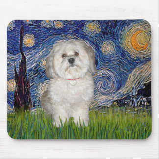 Starry Night - Havanese (F) Mouse Mat