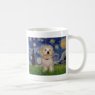 Starry Night - Havanese Puppy Coffee Mug