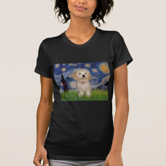 Starry Night - Havanese Puppy T-Shirt
