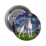 Starry Night - Italian Greyhound 7 Buttons