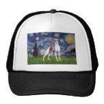 Starry Night - Italian Greyhound 7 Mesh Hat